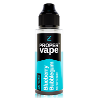 Blueberry Bubblegum by Proper Vape 100ml Shortfill