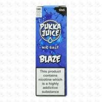 Pukka Blaze Nic Salt By Pukka Juice 10ml 10mg