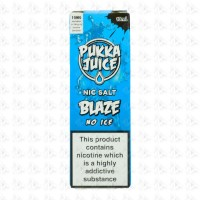 Pukka Blaze NO ICE Salt by Pukka Juice 10ml 10mg
