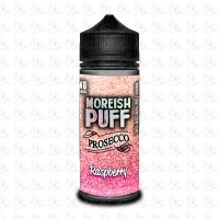 Raspberry By Moreish Puff Prosecco 100ml 0mg