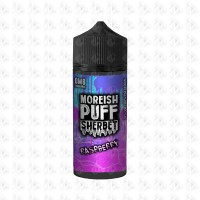 Raspberry By Moreish Puff Sherbet 100ml Shortfill