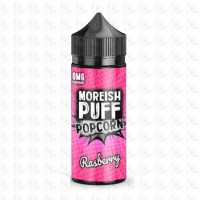Raspberry By Moreish Puff Popcorn 100ml Shortfill