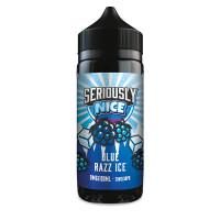 Blue Razz ICE Vape Juice By Seriously Nice in 100ml