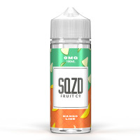 Mango Lime By SQZD 100ml Shortfill
