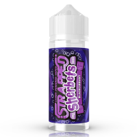 Blackcurrent By Strapped Sherbet 100ml Shortfill
