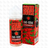 Strawberry By Sour House 100ml Shortfill