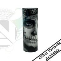 2Five Top Cap By Dragon Mod Co Sugar Skull White