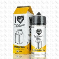 Mango Milk By Mad Hatter 100ml 0mg