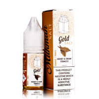 Honey And Cream Tobacco By The Milkman Salt 10ml