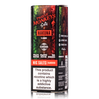 Hakuna By Twelve Monkeys Salt 10ml
