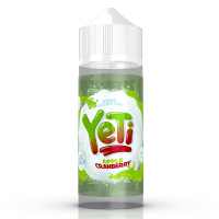 Apple And Cranberry Ice By Yeti 100ml Shortfill