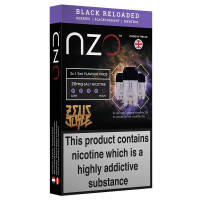 Zeus Juice Pre-filled Pods For the NZO Pod Kit 3 Pack 20mg