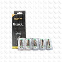 Aspire Breeze 2 1.0ohm UTech Coil 5pack