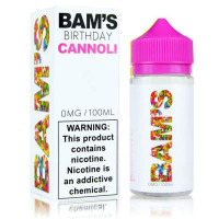 Birthday Cannoli By Bam's Cannoli 100ml Shortfill