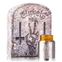 Unholy V2 RDA + Squonk Pin By Deathwish Modz Stainless Steel