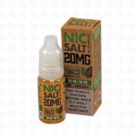 Smooth Rich Tobacco Nic Salt By Flawless 10ml 20mg