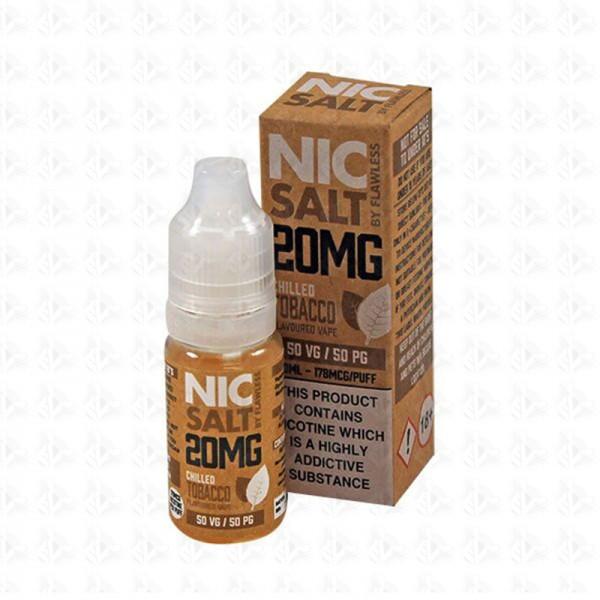 Chilled Tobacco Nic Salt By Flawless 10ml 20mg